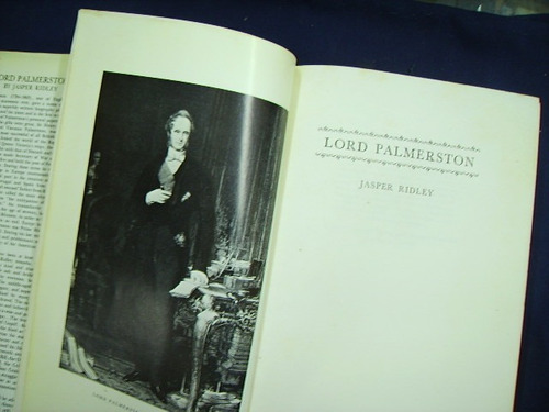 lord palmerston - jasper ridley