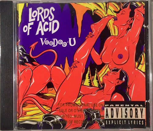 lords of acid - voodoo-u - cd importado usa novo