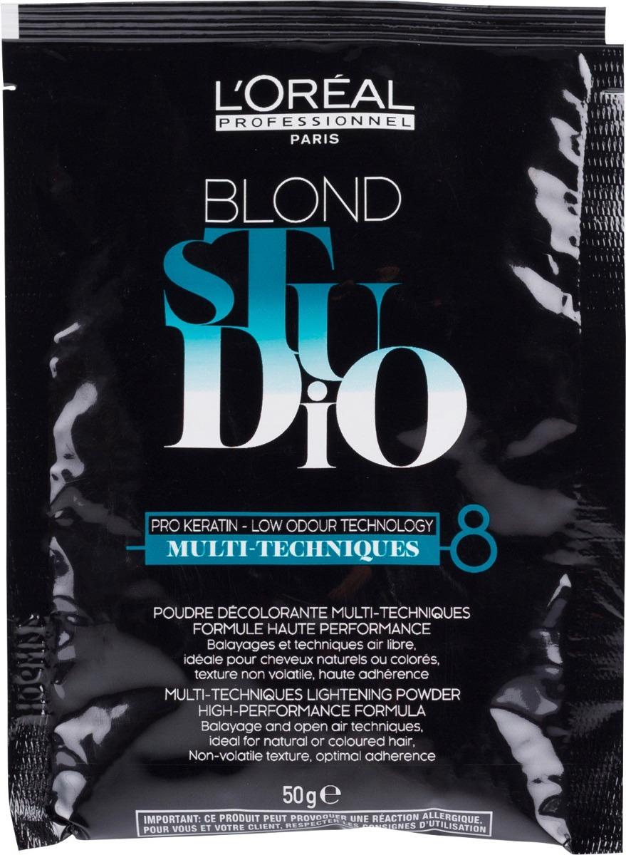 Loreal Blond Studio Decolorante 50 G Agua Oxigenada 20vol