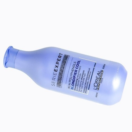 loreal blondifier cool shampoo neutralizante p/ rubio 300 ml