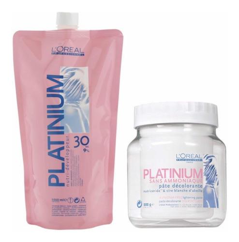 loreal decolorante platinum sin amoniaco