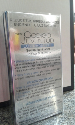 loreal dermo-expertise youth code luminize super serum 30ml