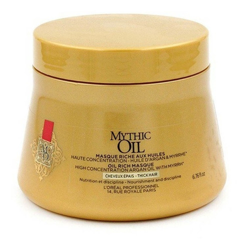 loreal masque mythic oil x 250 ml