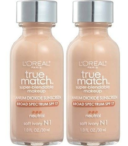 l'oreal paris cosmetics true match maquillaje base súper bl
