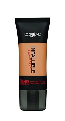 l'oreal parís infalible maquillaje pro-matte foundation, 10