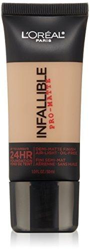 l'oréal paris infalible pro-matte foundation, golden beige,