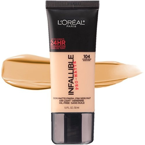 l'oréal paris infalible pro-matte foundation, golden beige,