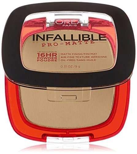 l'oréal paris infalible pro-matte powder, nude beige, 0.31 !