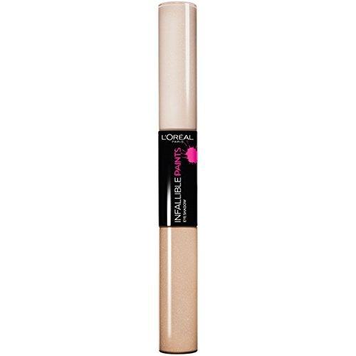 l.oréal paris infallible paints eye shadow, cool ivory, 0.2