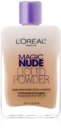 l'oreal paris magic desnudo polvo líquido piel pura