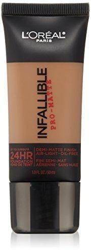 l'oreal paris maquillaje infalible pro-matte foundation, 10