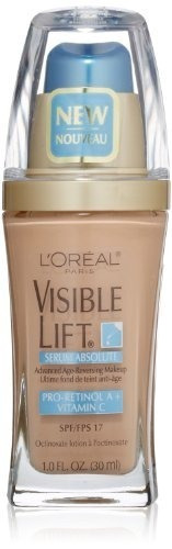 l'oréal paris visible lift serum absolute foundation, !