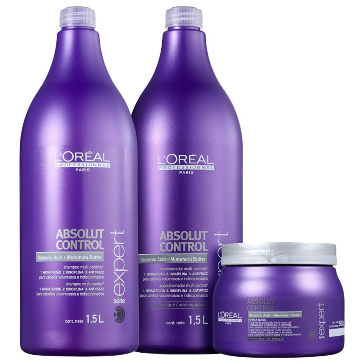 e16087c16f l oréal pro absolut control power salon kit (3 produtos) blz. Carregando  zoom.