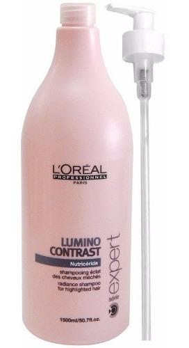 loreal profesional shampoo lumino contrast x1500 pelo mechas