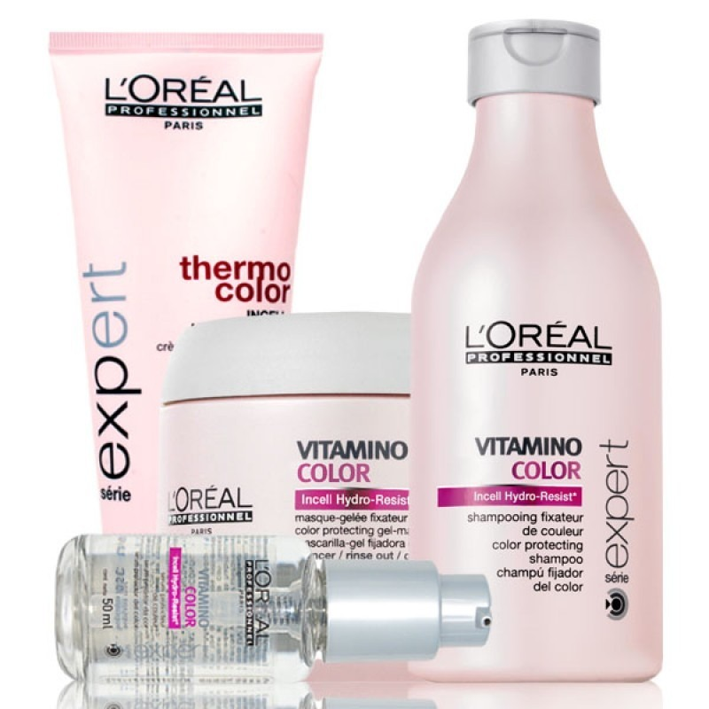 7804c5025 Loréal Vitamino Color Kit Escova Color Protect - 4 Produtos - R$ 362 ...