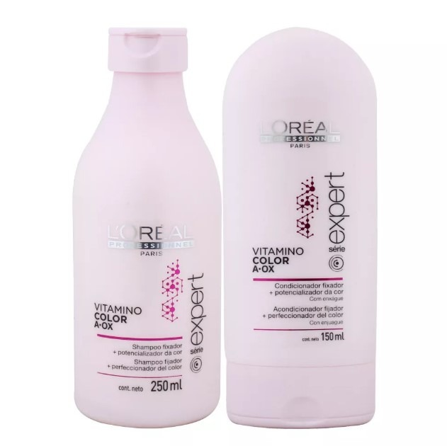 cb442ca6d Loreal Vitamino Color Kit Shampoo 250ml+ Condicionador 150ml - R ...