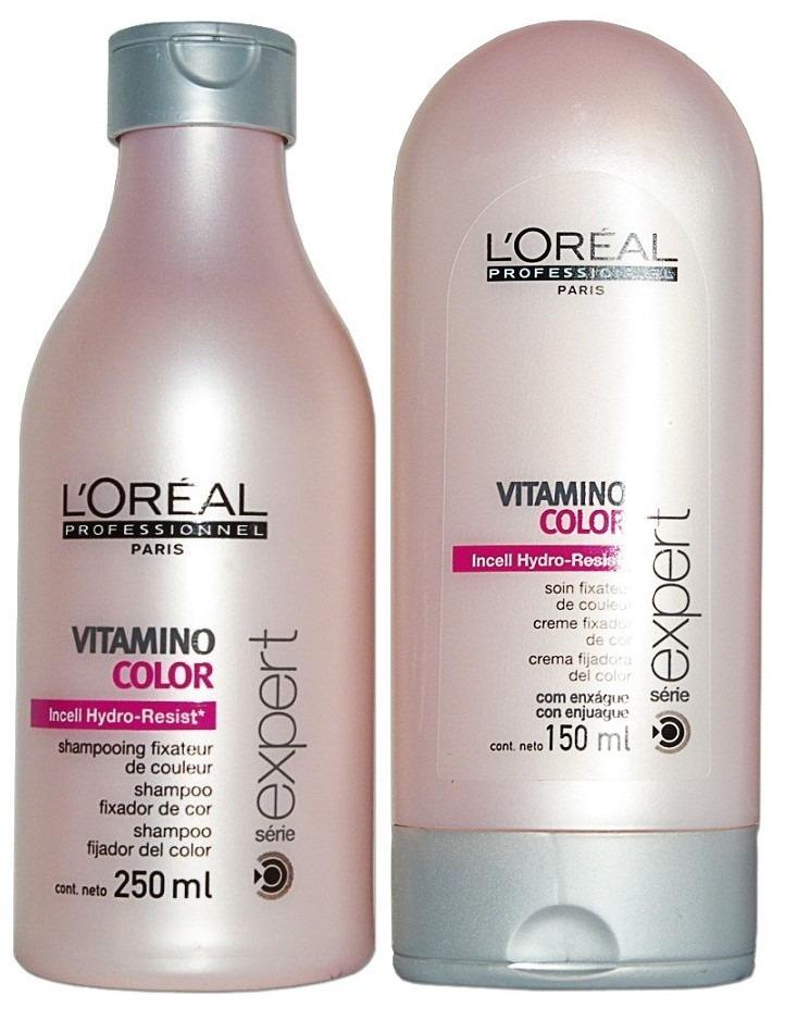763f0be9a loreal vitamino color shampoo 250ml + condicionador 150ml. Carregando zoom.