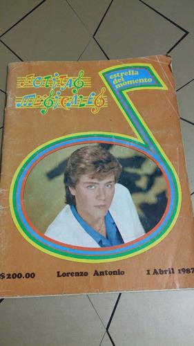 lorenzo antonio notitas musicales abril 1987
