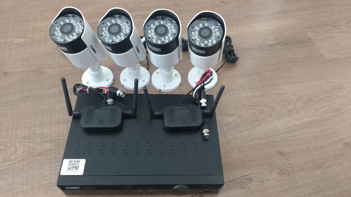 Lorex Dvr Eco 4-channel Weatherproof + 4 Cameras Wireless