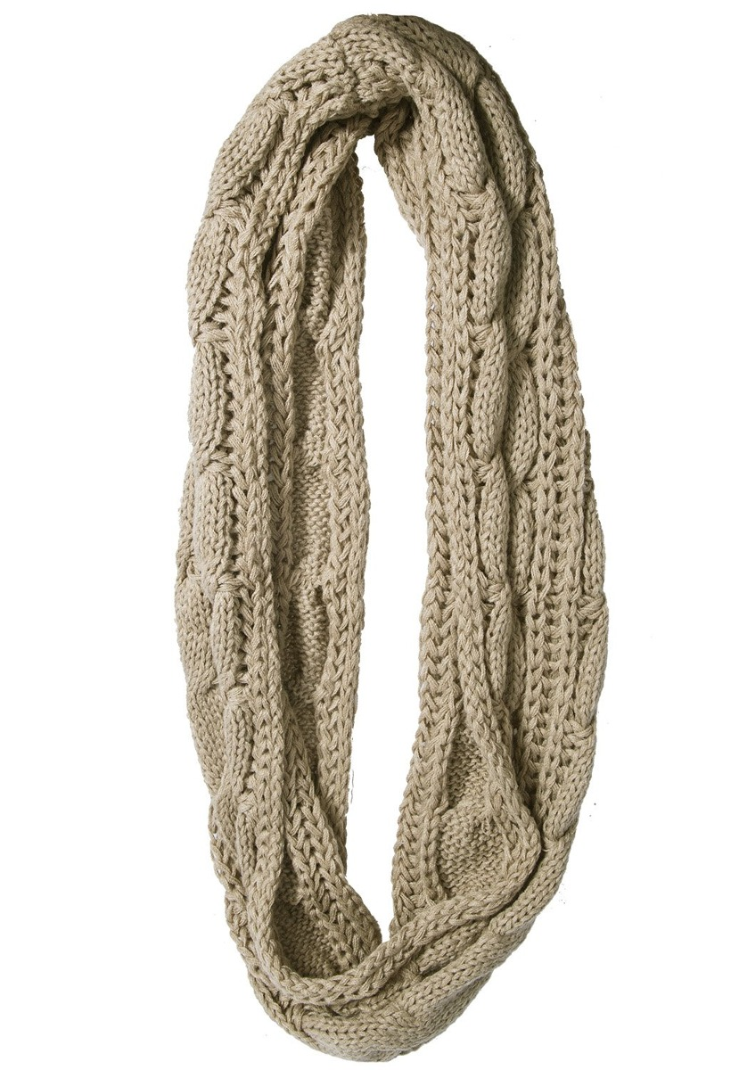 Loritta Womens Winter Warm Ribbed Thick Knit Infinity Buf - S/ 198 ...