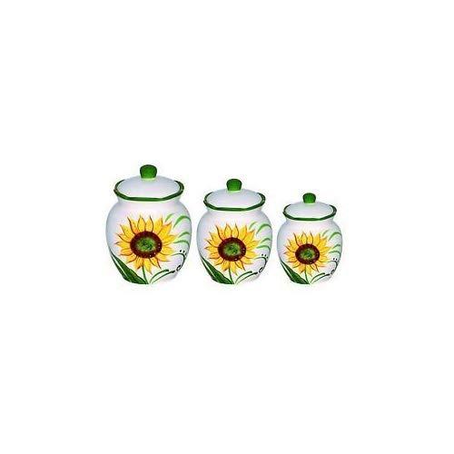 lorren casa tendencias sunflower diseño set 3 pieza de lujo