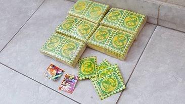 lorte de figuritas cards de drangon ball gratis envio