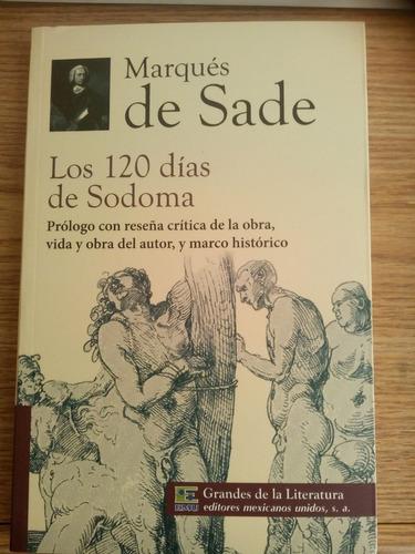 los 120 dias de sodoma, marques de sade