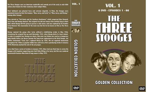 los 3 chiflados - completa 190 eps. +2 dvd en color- latino.