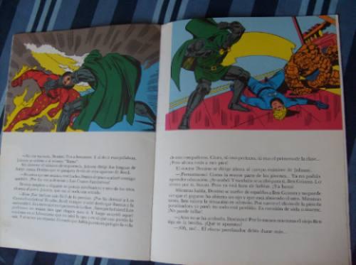 los 4 fantasticos contra el doctor destino /  ed. canal 1981