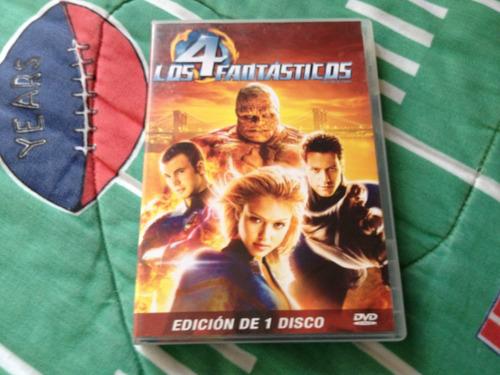 los 4 fantasticos pelicula en dvd