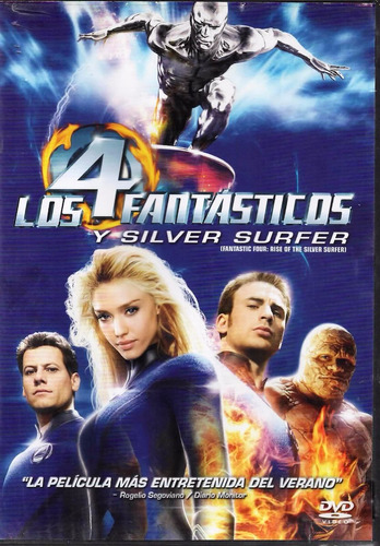 los 4 fantásticos y silver surfer - marvel - español - dvd