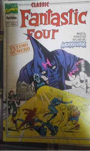 los 4 fantaticos forum fin de serie 50 paginas