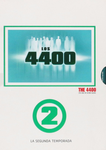 los 4400 segunda temporada 2 dos dvd