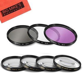 Densidad neutra filtro nd2000 62mm Nikon AF 85mm f//1.8 D