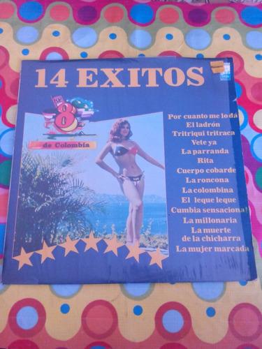 los 8 de colombia lp 14 exitos 1984