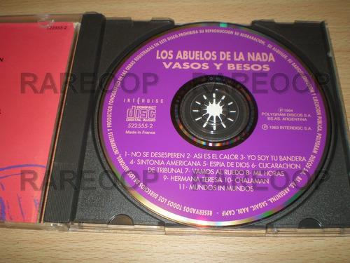 los abuelos de la nada vasos y besos (cd) (france) e2