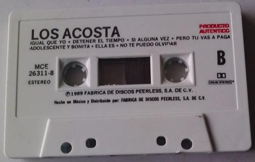 los acosta mi pueblo cassette raro 1989 peerless