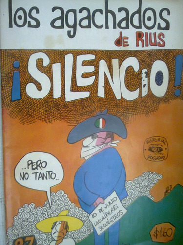 los agachados de rius  no 87 feb 1972  comic  antiguo