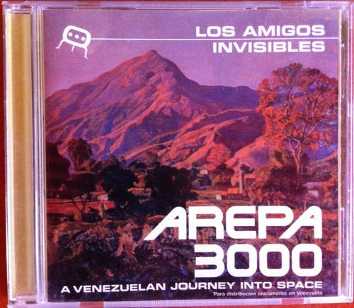 los amigos invisibles. arepa 3000. cd original, usado