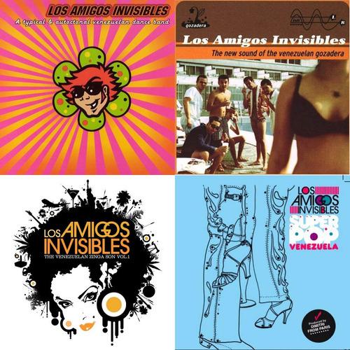 los amigos invisibles - discografía (digital) 11 albumes