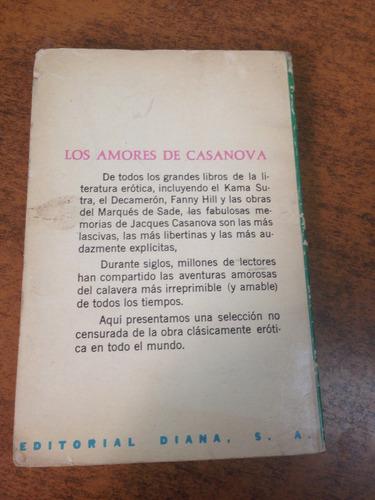 los amores de casanova /jaques casanova