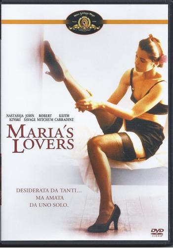 los amores de maría -maria´s lovers dvd importado en español