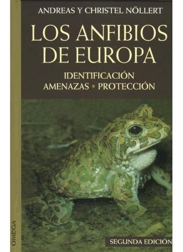 los anfibios de europa(libro varios)
