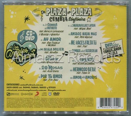 los angeles azules de plaza en plaza cumbia sinfonica cd+dvd