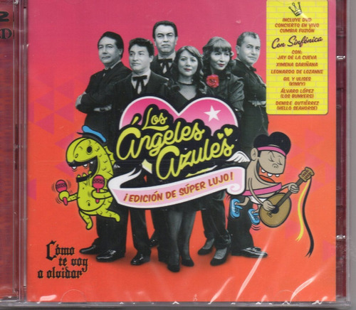 los angeles azules / edicion de super lujo / cd + dvd