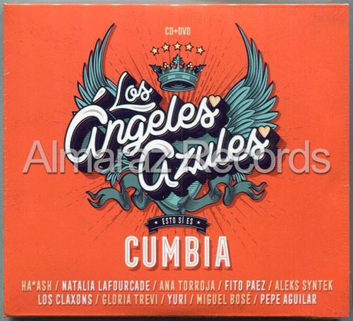 los angeles azules esto si es cumbia cd+dvd