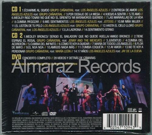 los angeles azules grupo cañaveral concierto juntos 2cd+dvd