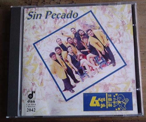 los angeles azules sin pecado  cd 1a edicion 1995 disa  fdp