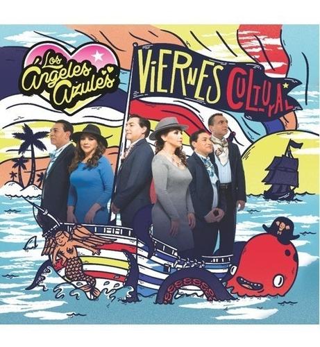los ángeles azules viernes cultural cd + dvd