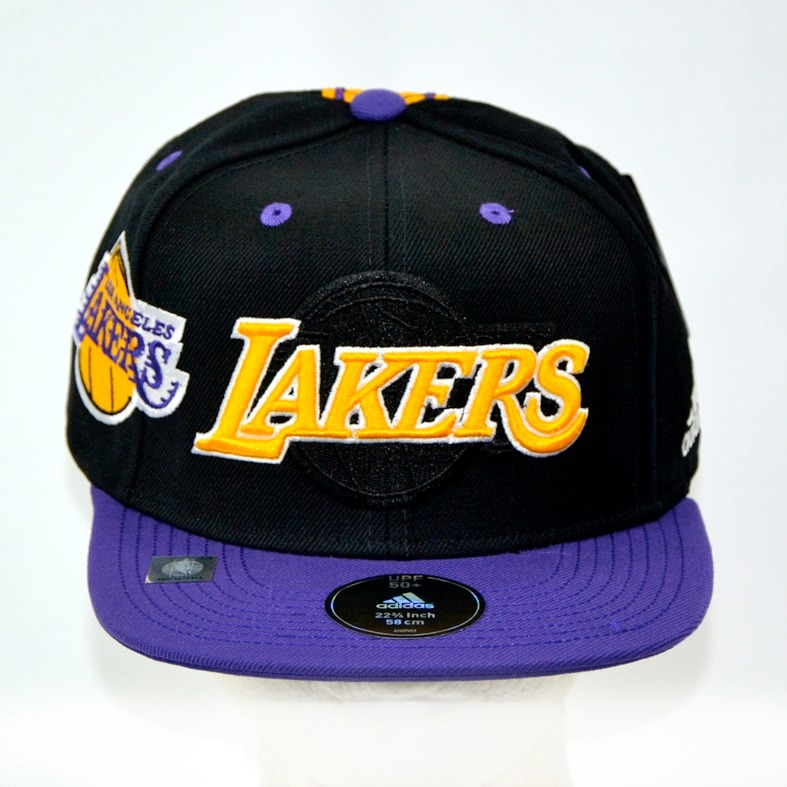 Los Angeles Lakers adidas Gorra Snapback 100% Original -   739.00 en ... 90ea6fe35bf